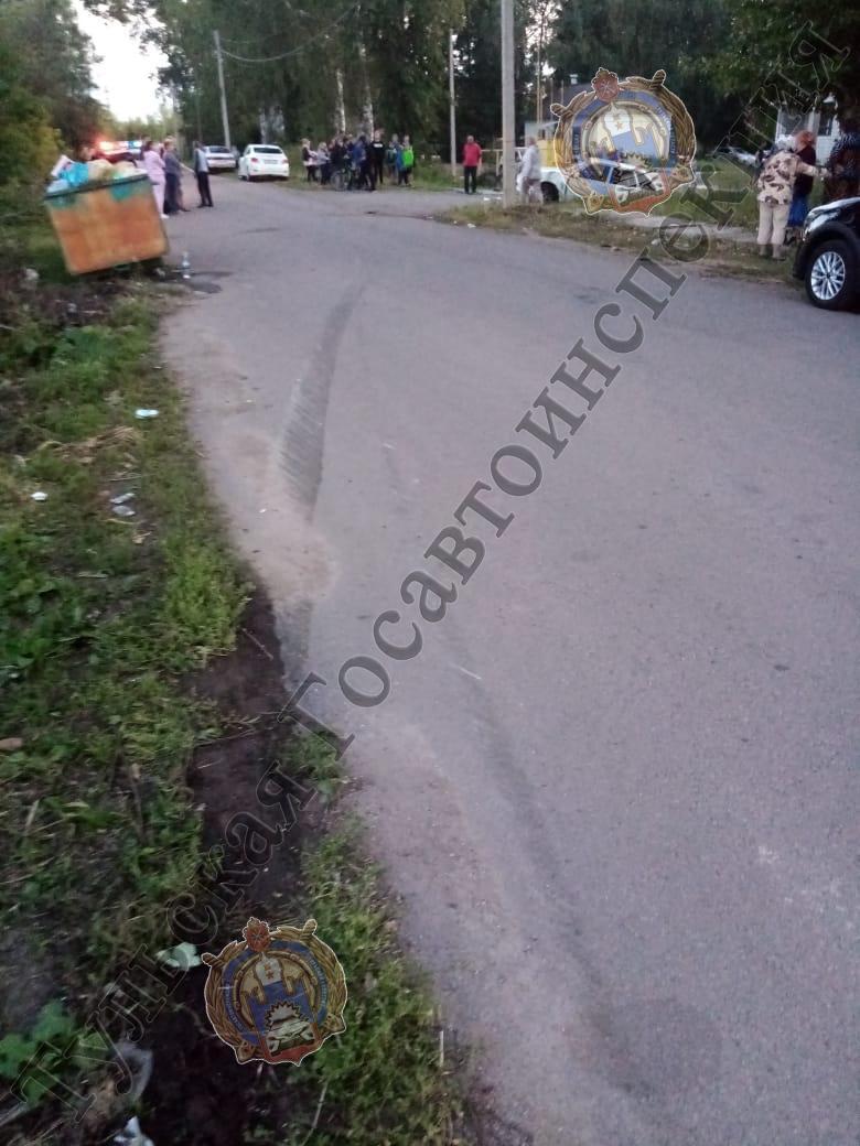 В Богородицком районе подросток сбил пенсионерку