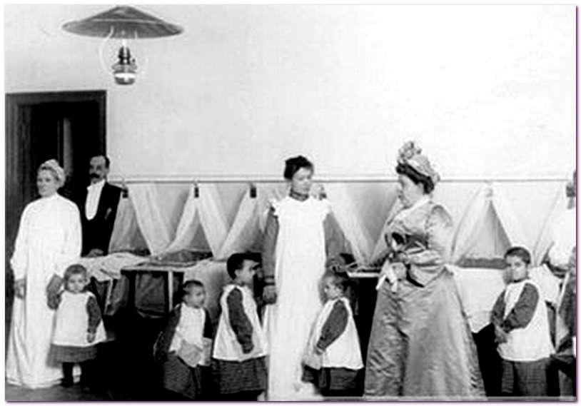 В детском саду 150 лет назад