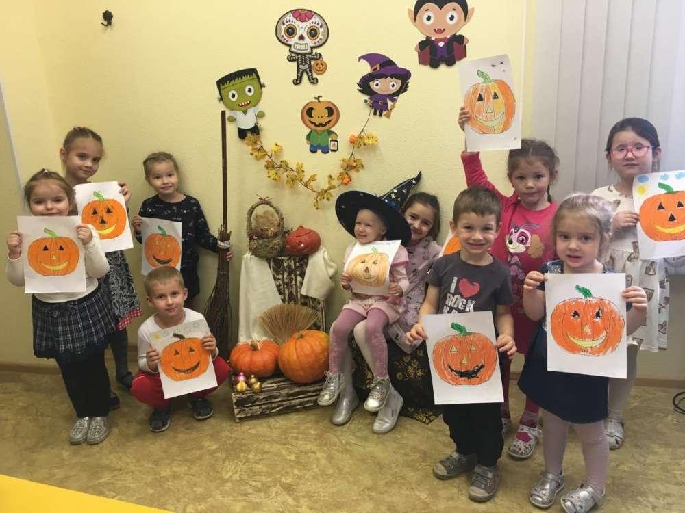 Праздник тыквы в Центре детского творчества