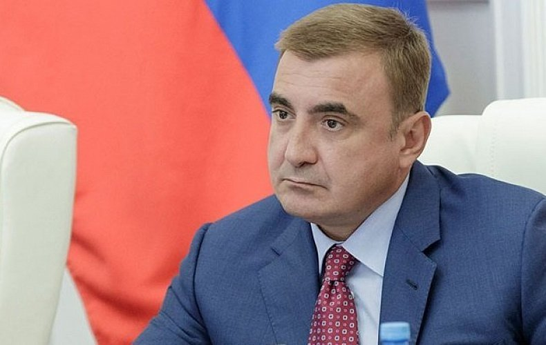 Алексей Дюмин поздравил жителей Одоева с Днем основания поселка