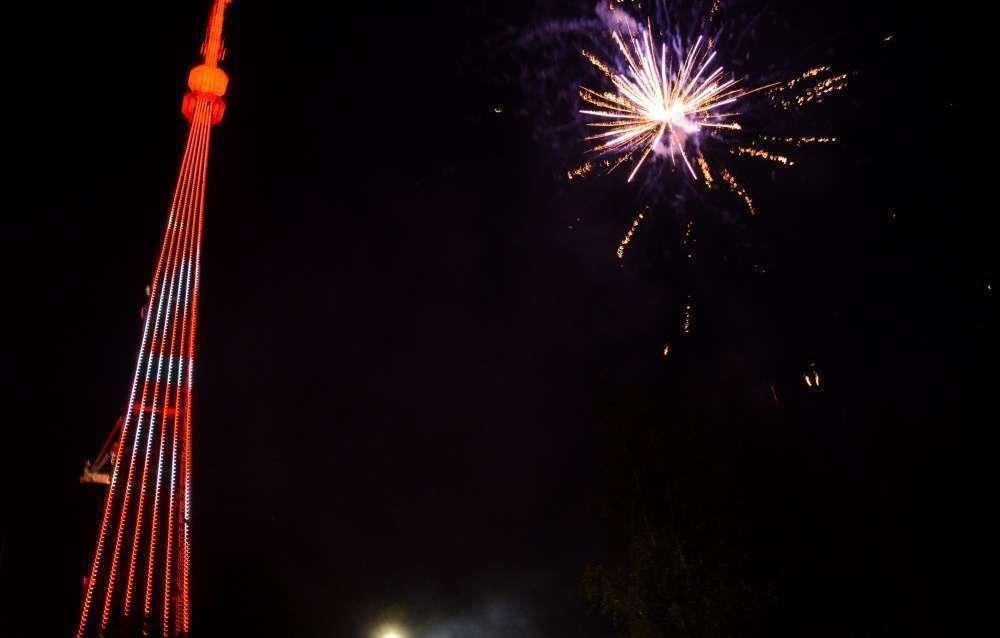 Подсветка телебашни РТРС поздравит жителей Тулы с Днем города
