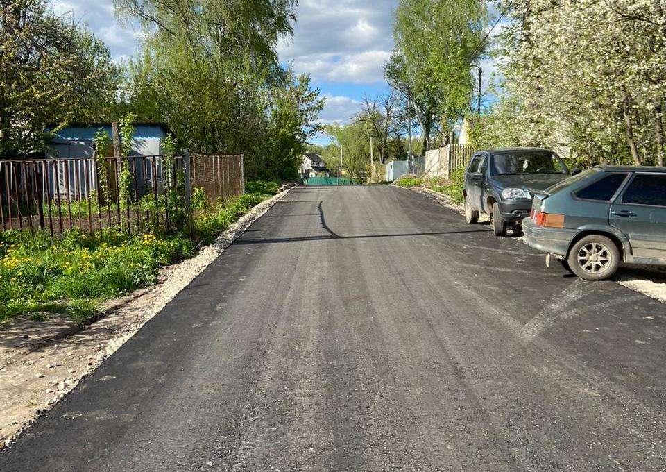 Ремонт дорог в Щекино завершён досрочно