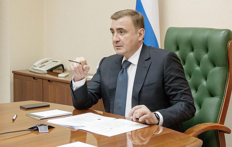 Алексей Дюмин поручил алексинской администрации газифицировать деревню в 2021 году