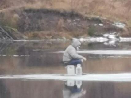 Хобби, опасное для жизни: под Тулой рыбак вышел на неокрепший лед