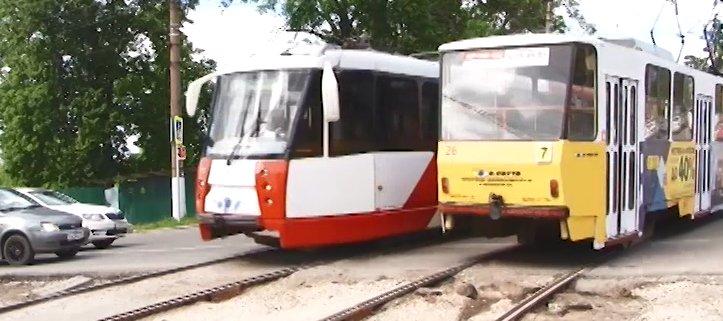 В Туле временно изменятся маршруты трамваев из-за ремонта улицы Кауля