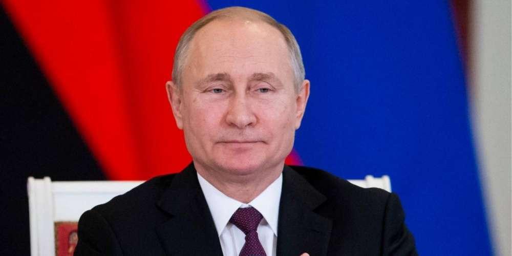 Владимир Путин поздравил туляков