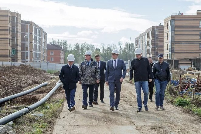 Строительство ЖК «Молодежный» завершится весной 2021 года