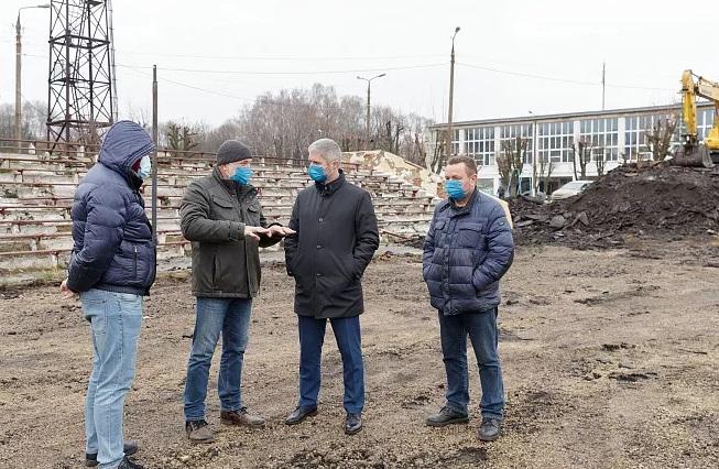 Ремонт футбольного поля в Узловой будет завершен до конца года