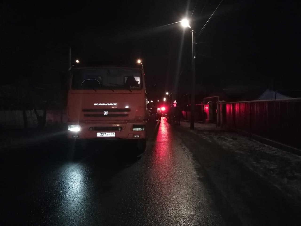 Под Тулой «КАМАЗ» насмерть сбил подростка