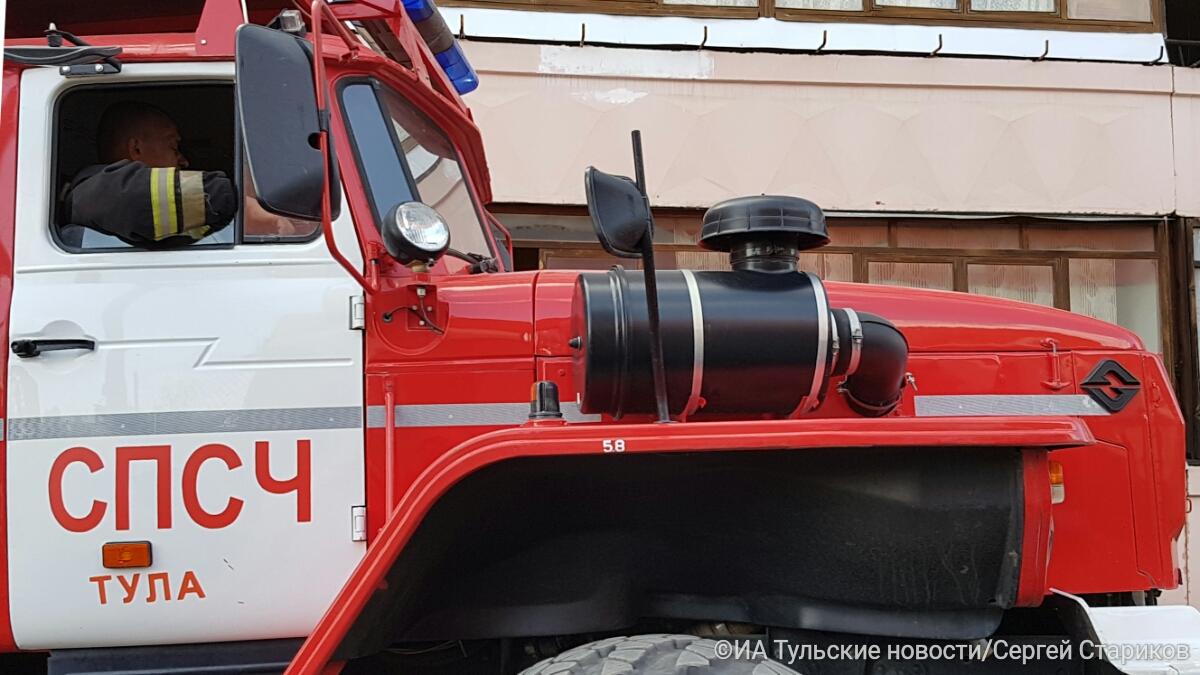 В Тульской области за день пожарные дважды тушили одну и ту же квартиру