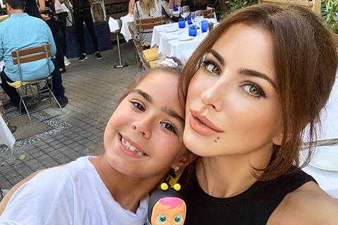 Ани Лорак записала песню с девятилетней дочерью Софией