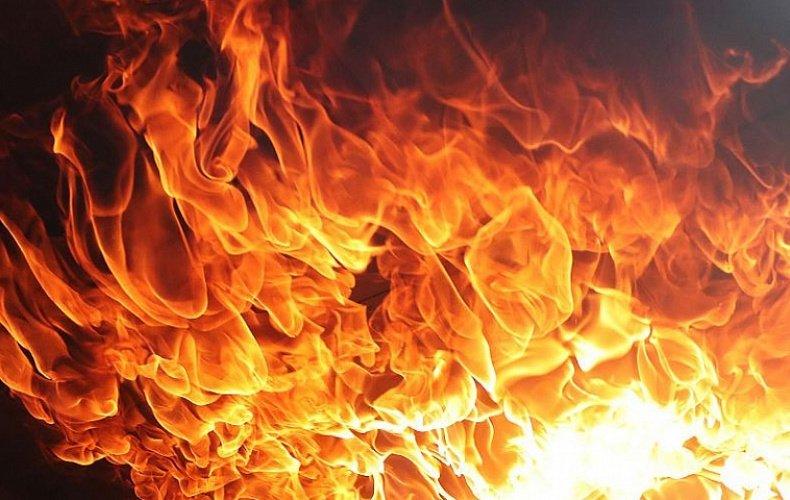 Внедорожник сгорел ночью в Тульской области