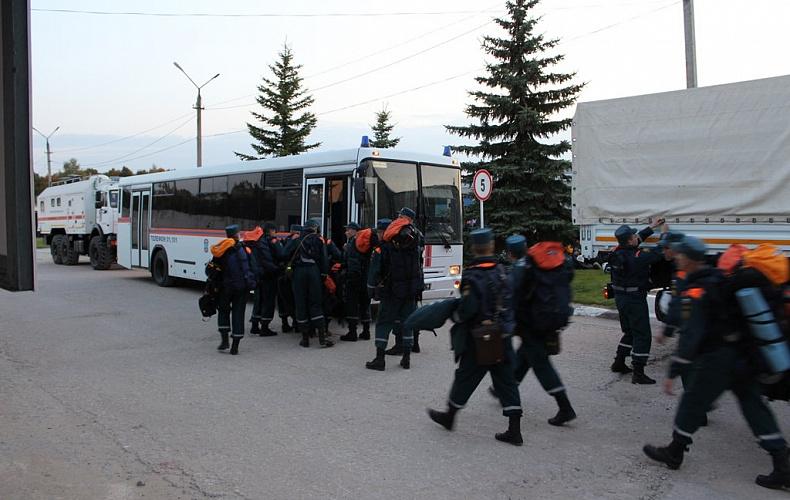 Тульские спасатели направлены в Воронежскую область для тушения лесных пожаров
