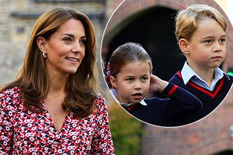 Кейт Миддлтон с принцем Джорджем и принцессой Шарлоттой посетили музей военной техники