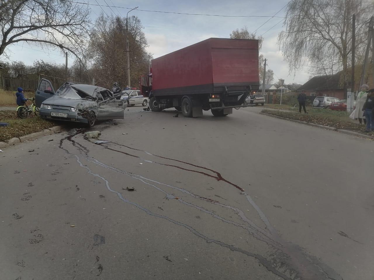 Два человека пострадали в ДТП в Богородицке