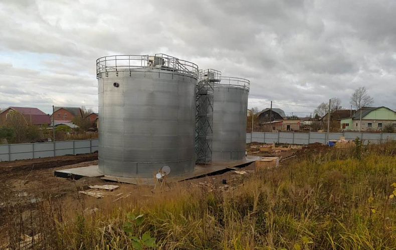 Станцию водоподготовки достроят в Плеханово в 2021 году