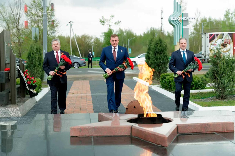 Очередная реконструкция Памятника погибшим защитникам Родины