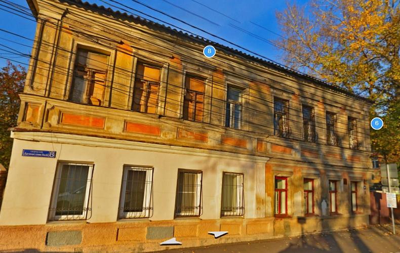 Дом №8 в Денисовском переулке Тулы признан объектом культурного наследия