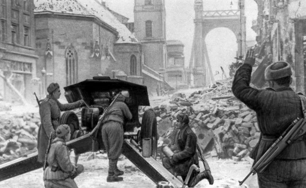 76 лет назад началась Будапештская наступательная операция советских войск