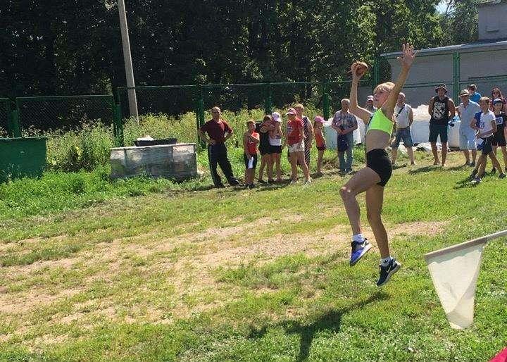 Легкоатлеты Щекинского района отличились в метании снаряда