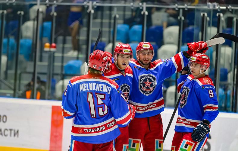 Тульская «Академия Михайлова» проведет хоккейный матч со «СКА-Варягами»