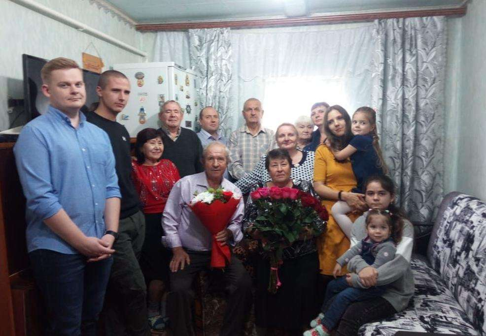 У нас большая интернациональная семья